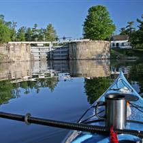Rideau Canal lockstation. Photo courtesy of Ottawa Citizen.