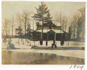 Fancy Free Island, Christmas, 1904.